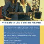 Viel Barock und a bissele Klezmer wieder zu Gast im Theater Tredeschin!